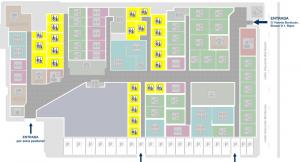 Plano de oficinas de alquiler para 1 persona en Centro Empresarial Parque Roma CEPAR